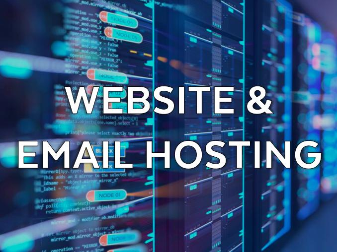 website and email hosting rikkiwebster.com