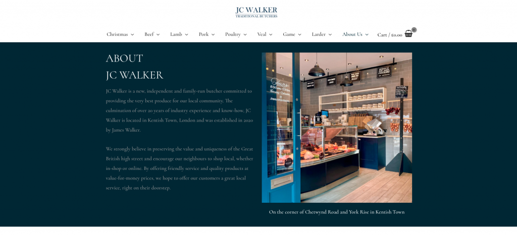 jc walker traditional butchers about us