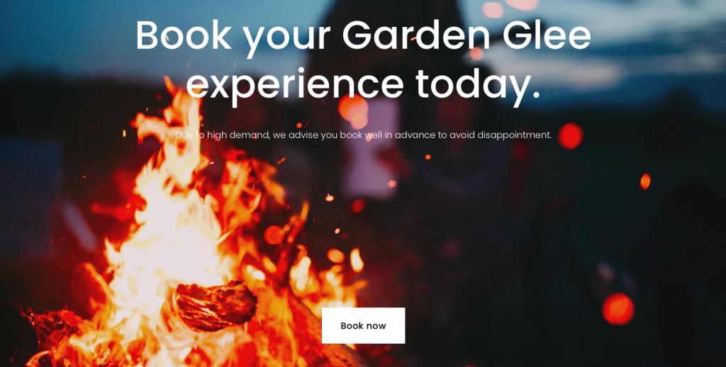 rikkiwebster.com website design and build gardenglee garden experiences for hire 1