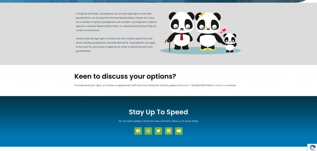 family law portal website design rikkiwebster.com